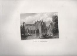 Gravure Ancienne/Bords De Loire/Château De CHENONCEAUX/ Dessinés  Et Gravés Par ROUARGUE Frères/ Paris/1850     LOIR4 - Engravings