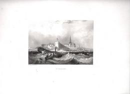 Gravure Ancienne/Bords De Loire/SAINT NAZAIRE/ Dessinés  Et Gravés Par ROUARGUE Frères/ Paris/1850     LOIR7 - Engravings
