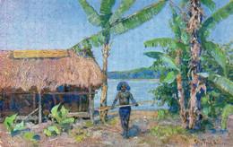 DC27 - Ak Kolonialkriegerkarte - Papua In Neuguinea - Otras Guerras