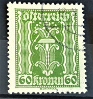 AUSTRIA - Canceled - ANK 375 - 60K - Used Stamps