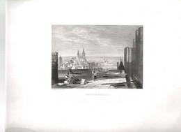 Gravure Ancienne/Bords De Loire/LOCHES Et BEAULIEU/ Dessinés  Et Gravés Par ROUARGUE Frères/ Paris/1850     LOIR8 - Engravings