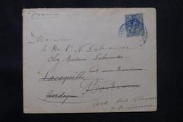 ESPAGNE - Enveloppe Pour La France En 1914 - L 75716 - Cartas