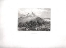 Gravure Ancienne/Bords De Loire/SANCERRE / Dessinés  Et Gravés Par ROUARGUE Frères/ Paris/1850     LOIR12 - Engravings