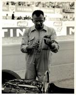 REIMS FRANCE FRENCH GRAND PRIX 1961 ALF FRANCIS MECHANIC ROB WALKER 21*16CM MOTOR RACING RACE Car Course D'automobile - Auto's