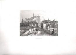 Gravure Ancienne/Bords De Loire/MONTLUCON/Dessinés  Et Gravés Par ROUARGUE Frères/Paris/1850  LOIR16 - Engravings
