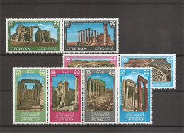Archéologie ( PA 34/41 XXX -MNH- De Jordanie) - Archeologia