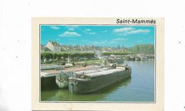 Les Quais De Seine Avec Les Peniches - Saint Mammes