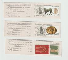 (D145) Cyprus Set Of 3 Booklets Carlsberg Advertisement MNH - Ohne Zuordnung