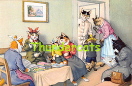 CPA ILLUSTRATEUR  ALFRED  MAINZER  EUGENE HARTUNG MAX KUNZLI CHAT CAT KAT CHATS CATS KATZE - Gatos