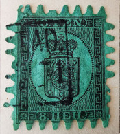 Finlande 1866-70 Y&T N°6  Oblitéré - Nuovi