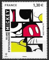 France 2018  Neuf **  N° 5259  -  Mickey   à 1,30 € - Unused Stamps
