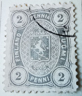 Finlande 1866-70 Y&T N°13 Oblitéré - Nuovi