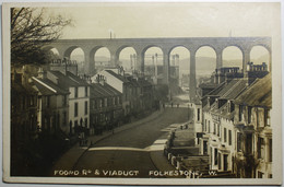 FOLKESTONE FOORD Road & VIADUCT - Folkestone