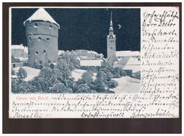 Gruss Aus Reval1902 Old Postcard - Estland