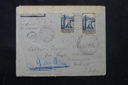CÔTE D'IVOIRE - Enveloppe Commerciale De Koroko Pour La France En 1940 Avec Contrôle Postal - L 75743 - Briefe U. Dokumente