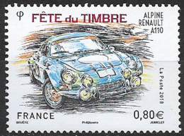 France 2018  Neuf **   N° 5204   Fête Du Timbre  -  Alpine Renault A110    à  0,80 € - Unused Stamps
