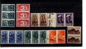 South West Africa 144-51 MNH Pairs Or Strips Of Three War Issue Nurse Soldier Tank Etc A04s - Africa Del Sud-Ovest (1923-1990)