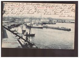 Souvenir De Reval Totalansicht Hafen Harbour 1899 Old Postcard - Estland