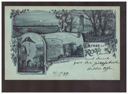 Gruss Aus Reval 1899 Old Postcard - Estland