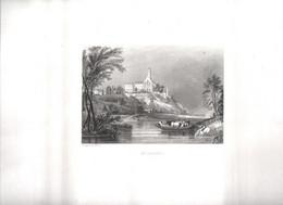 Gravure Ancienne/Bords De Loire/SAINT-FLORENT /Dessinés  Et Gravés Par ROUARGUE Frères/Paris/1850  LOIR24 - Engravings