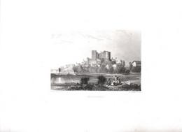 Gravure Ancienne/Bords De Loire/MONTROND/Dessinés  Et Gravés Par ROUARGUE Frères/Paris/1850  LOIR27 - Engravings