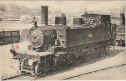 CPA  TRAIN  DIEPPE  LOCOMOTIVES DE L OUEST - Eisenbahnen