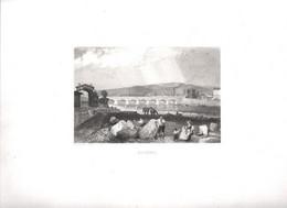Gravure Ancienne/Bords De Loire/ROANNE/Dessinés  Et Gravés Par ROUARGUE Frères/Paris/1850  LOIR28 - Engravings