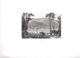 Gravure Ancienne/Bords De Loire/AUREC /Dessinés  Et Gravés Par ROUARGUE Frères/Paris/1850  LOIR31 - Engravings