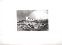 Gravure Ancienne/Bords De Loire/LE CROISIC /Dessinés  Et Gravés Par ROUARGUE Frères/Paris/1850  LOIR32 - Engravings