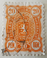 Finlande 1889-95 Y&T N°31, N°32, N°33, Oblitérés - Non Classificati