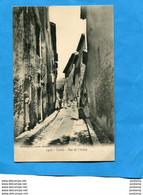 CASSIS -**  Gros Plan Animé-Rue De L'arène -années 1900-édit Lacour - Cassis