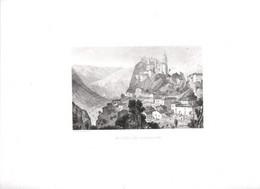 Gravure Ancienne/Bords De Loire/St PAUL En CORNILLON /Dessinés  Et Gravés Par ROUARGUE Frères/Paris/1850  LOIR34 - Engravings