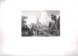Gravure Ancienne/Bords De Loire/ SAINT AMAND /Dessinés  Et Gravés Par ROUARGUE Frères/Paris/1850  LOIR38 - Engravings