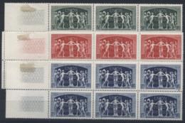 France Bloc De 6 N° 850 à 852 Luxes (MNH) - Cote 14,40 Euros - Prix De Départ 3,50 Euros - Nuevos