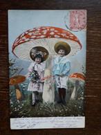 L30/522 Enfants Et Champignons - Scene & Paesaggi