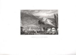 Gravure Ancienne/Bords De Loire/CHÂTEAU De La ROCHE BARON /Dessinés  Et Gravés Par ROUARGUE Frères/Paris/1850  LOIR41 - Engravings