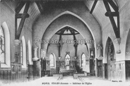 MISERY  1940   FELDPOST   (Intérieur De L'Eglise) - Other Municipalities