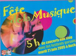 CC °_ 32 Auch - Fête De La Musique 2005 - Musik Und Musikanten