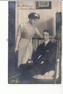 Guillaume De Suède Et Maria Pavlovna Romanova (en 1910) - Case Reali