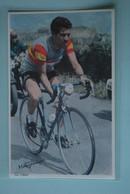 CYCLISME: CYCLISTE : FERNANDO MANZANEQUE - Cyclisme