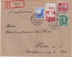 "ALLEMAGNE :  REC . "" BOPPARD 524 "" . 1936 . - Briefe U. Dokumente"