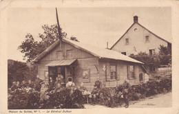 Maison Du Soldat No 1 Le Général Dufour Animée Feldpost Reg.26 # 1918  824 - Zonder Classificatie