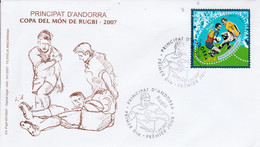 ANDORRE FDC 2007 RUGBY - FDC