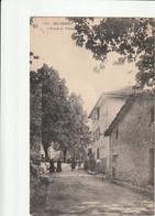 06- Belvedère : L'Entrée Du Village (Café, Restaurant Des Voyageurs ) - Belvédère