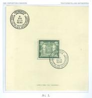 Bloc 2 Oblitéré Côte 390€ - Blocks & Sheetlets 1924-1960