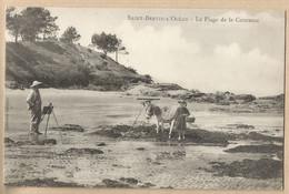 CPA [44] Loire Atlantique > St Saint-Brevin-l'Océan - Peintre Impressionniste - Chevalet - Enfant - Ane - Saint-Brevin-l'Océan