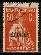 Horta, 1912/3, # 162, Used - Azores
