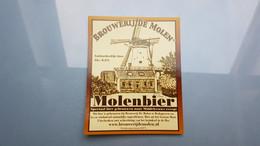 (MICRO) DE MOLEN From NETHERLANDS From Beer Label / Bieretiket / Bière étiquette - Bier