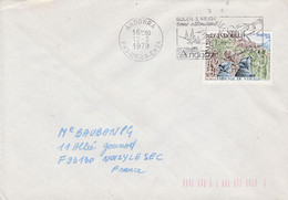 ANDORRE LETTRE POUR LA FRANCE 1979 - Cartas