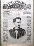 La Settimana Del 3 Febbraio 1870 Henri Rochefort Dinorah Meyerbeer Pio IX Papa - Antes 1900